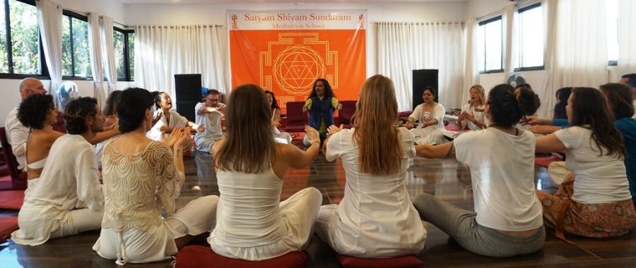 Happiness Bliss 100 Hours Meditation Teacher Training In india With Shiva Girish Meditation Master