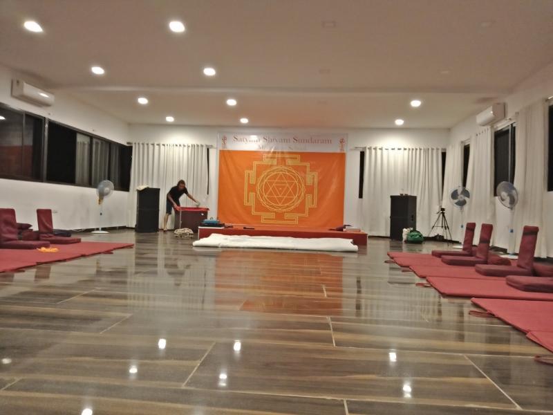 Satyam Shivam Sundaram Meditation Hall 0
