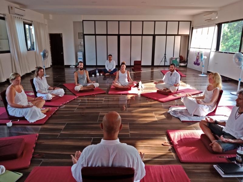Satyam Shivam Sundaram Meditation Hall 1
