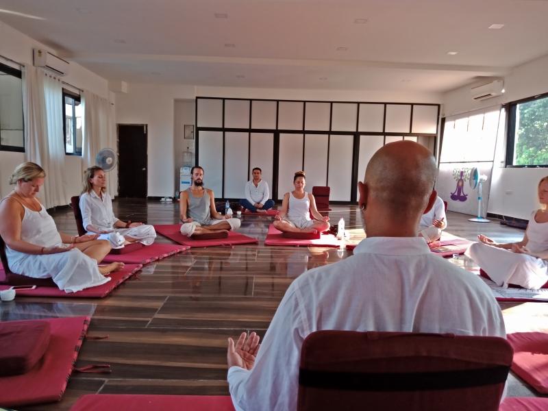 Satyam Shivam Sundaram Meditation Hall 7