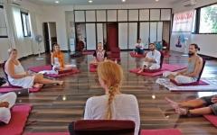 Satyam Shivam Sundaram Meditation Hall 9