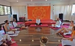 Satyam Shivam Sundaram Meditation Anahata Hall Arambol Beach North Goa