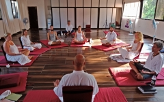 Satyam Shivam Sundaram Meditation Hall 8