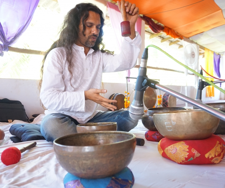 Tibetan Singing Bowls Healing Training India