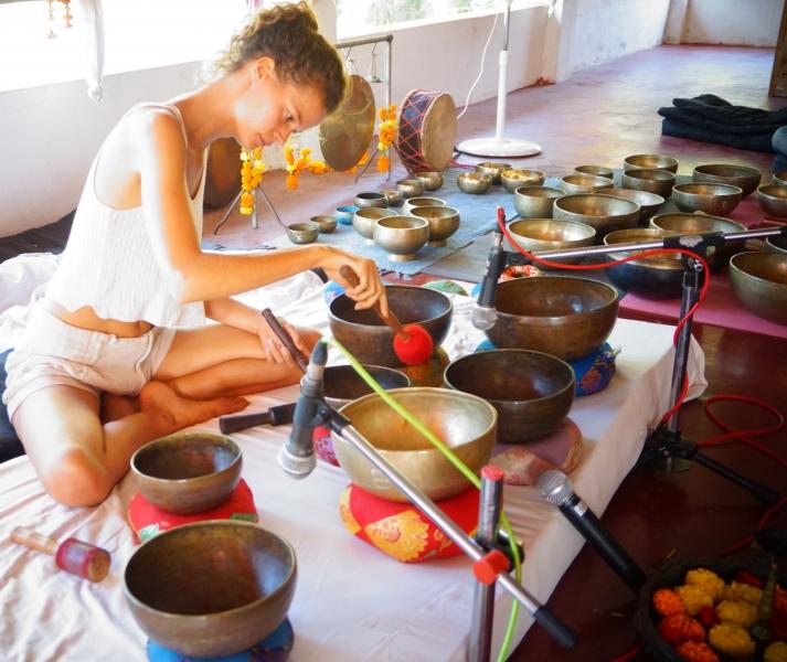 Tibetan Singing Bowls Sound Healing Teacher Training India