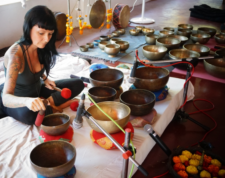 Tibetan Singing Bowls Training India