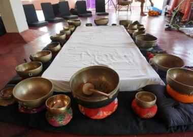 Hand Made tibetan singing bowls