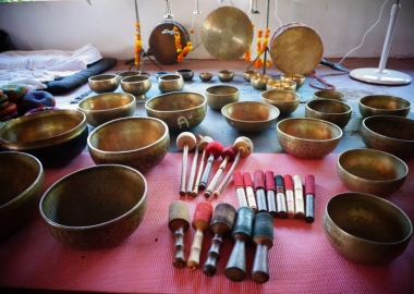 Opening Ceromony Sound Healing Teacher Training certification India 1