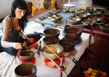 Tibetan Singing Bowls Training India
