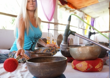 Tibetan Singing Bowls Sound Healing Training Goa