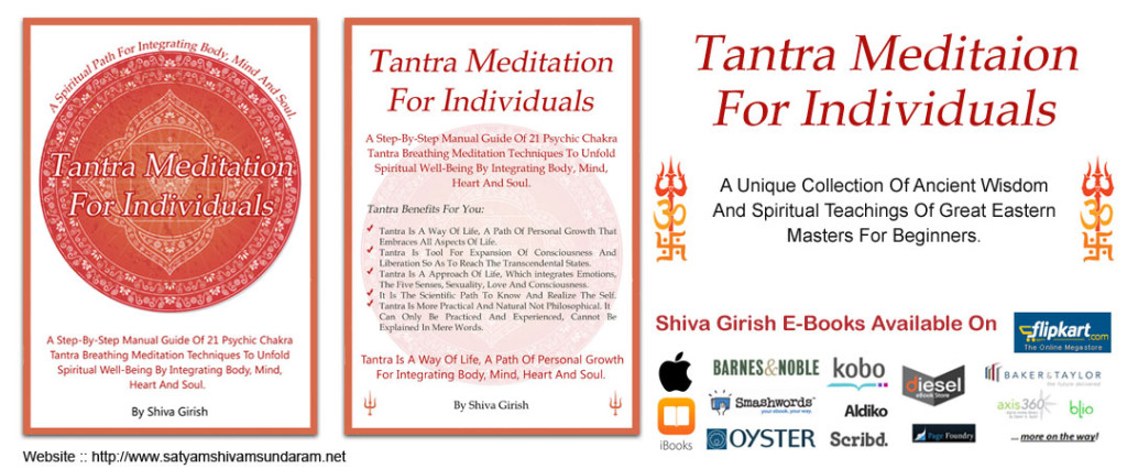 Tantra Meditation For Individuals E-book By Shiva Girish