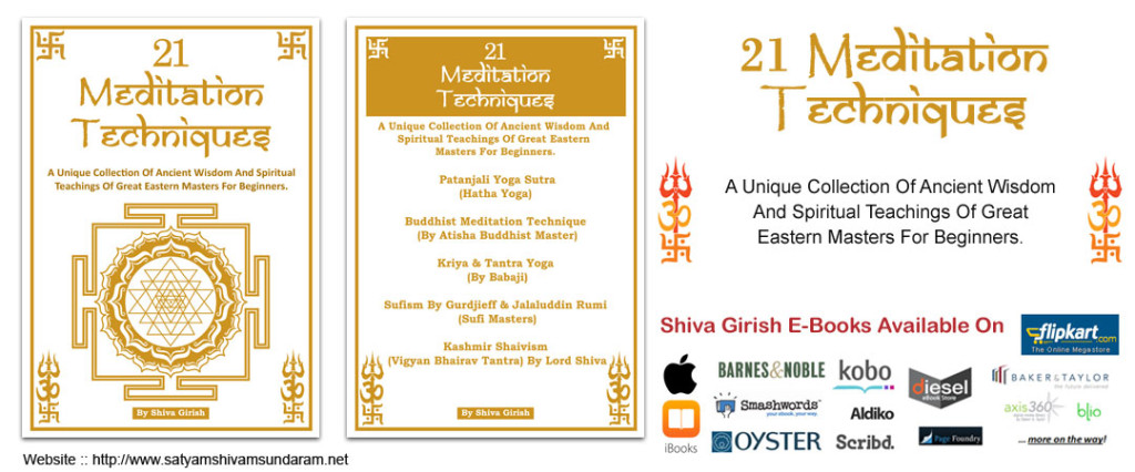 21 Meditation Techniques Ebook By Shiva Girish
