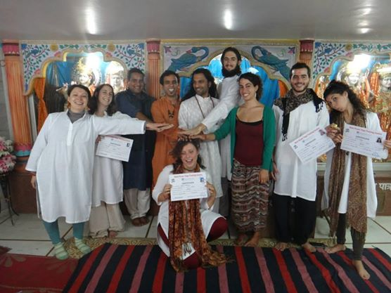 July 2013 Yoga Teacher Training Dharamshala