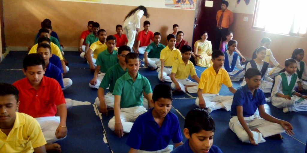 Mindfulness & Meditation To Primary School Childrens In India