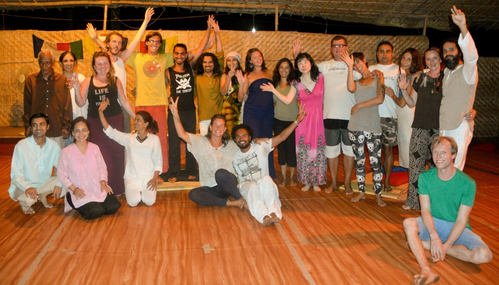 Full Moon Dance Meditation March 2015 Goa