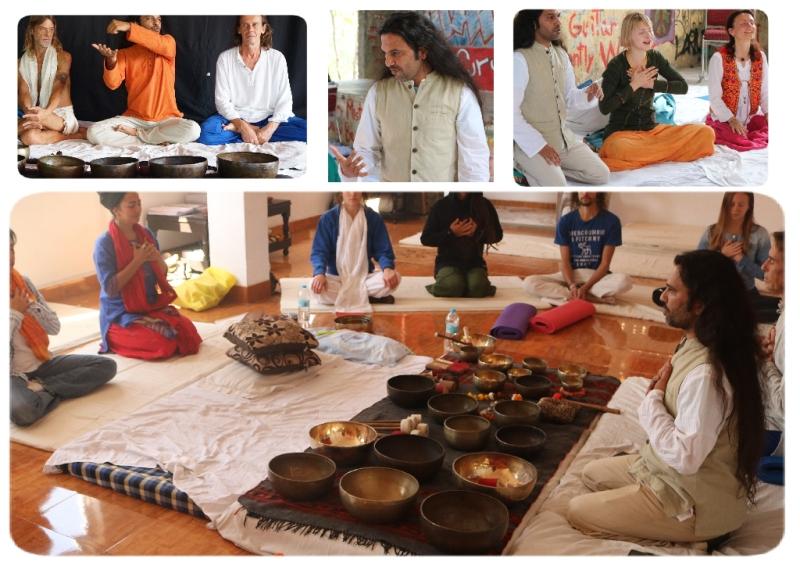 Tibetan Singing Bowls Training,