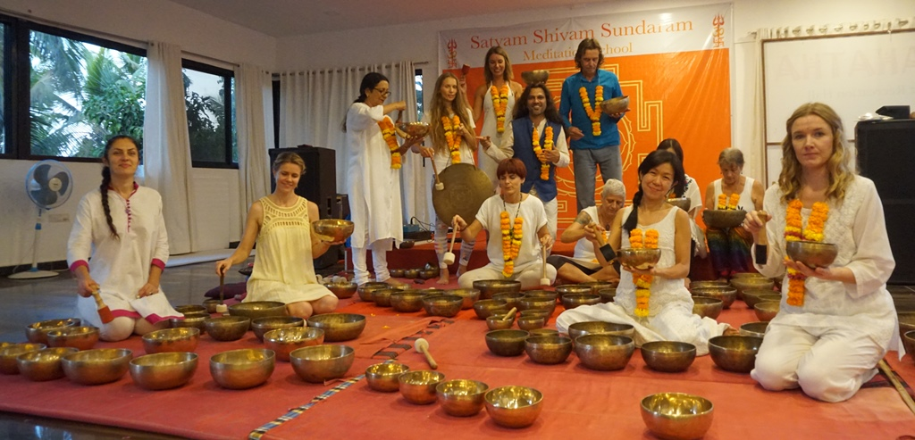 Nada Yoga Vedic Sounds Healing & Singing Bowls Training