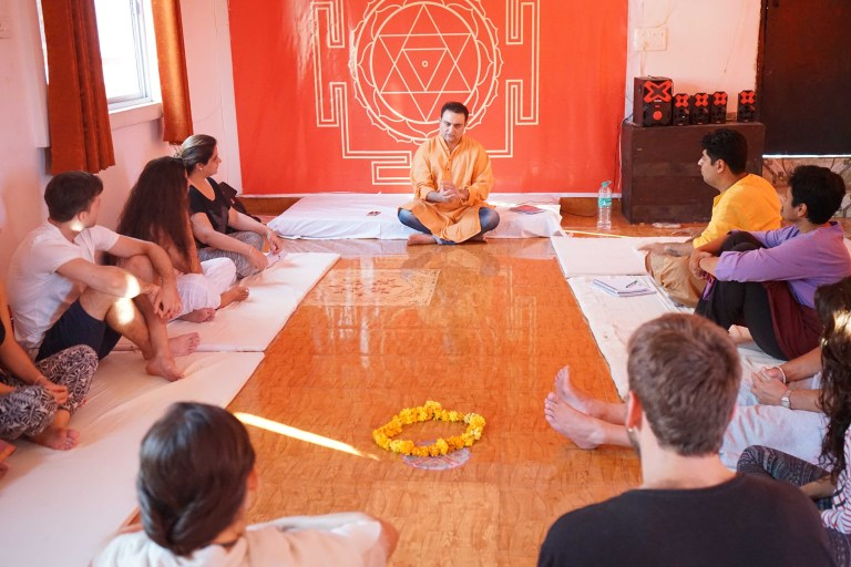 Mindfulness Yoga Nidra Meditation Teacher Training Rishikesh India