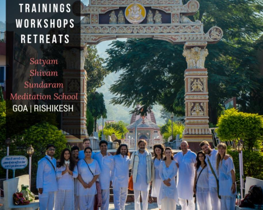 Online Live Meditation Teacher Training India Hongkong Singapore Malaysia